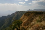 Ausblick vom Zomba Plateau bei Chingwes Hole, Malawi