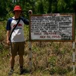 Auch der King of King war schon hier, Zomba Plateau, Malawi