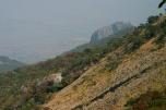 Steil hinauf geht es auf das Mulanje Massiv, Malawi