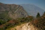 Waehrend des Aufstiegs auf das Mulanje Massiv, Malawi