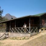 Chembe Hut, Unser erster Uebernachtungsspot, Mulanje Massiv, Malawi