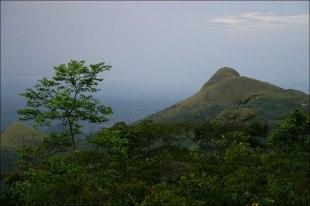 Berglandschaft in der Naehe von Amedzofe