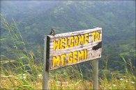 Mt. Gemi - Ghanas hoechster Berg